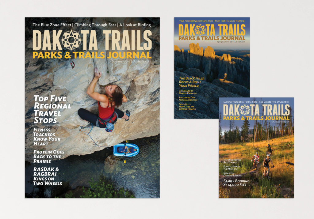 Dakota Trails Journal covers
